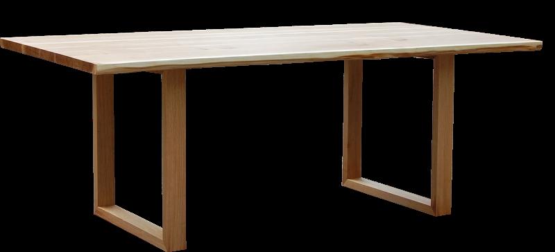 Tischplatte mit Waldkante