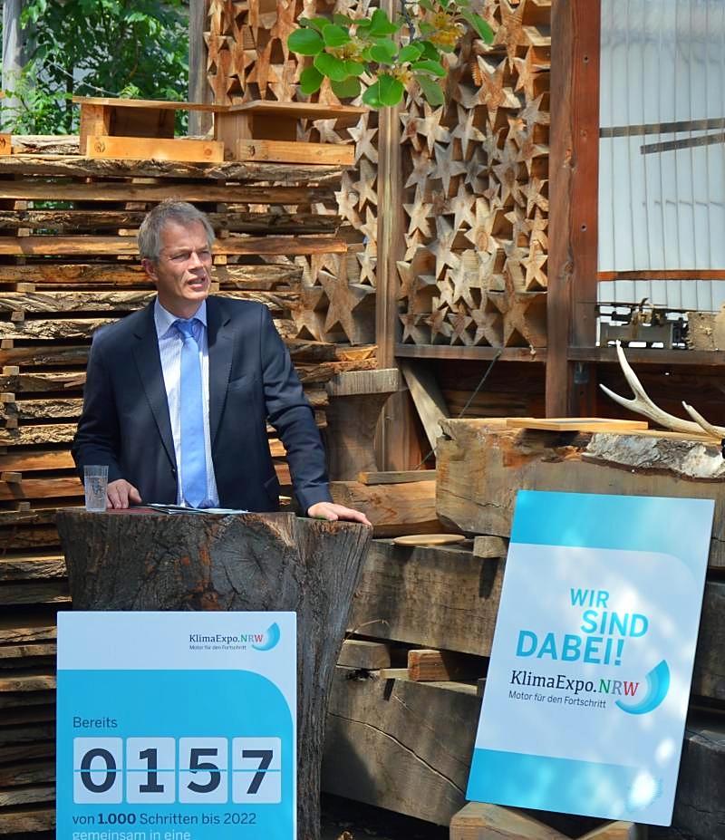 Umweltminister NRW Johannes Remmel