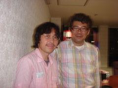2010年に、テディさんこと、小泉善仁さんと。