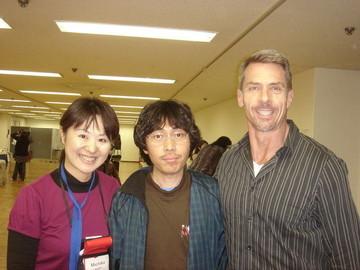 ケリーさんと稲本さんと。