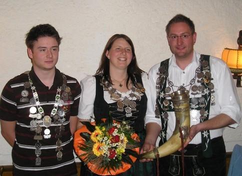 Schützenkönige 2007/2008
