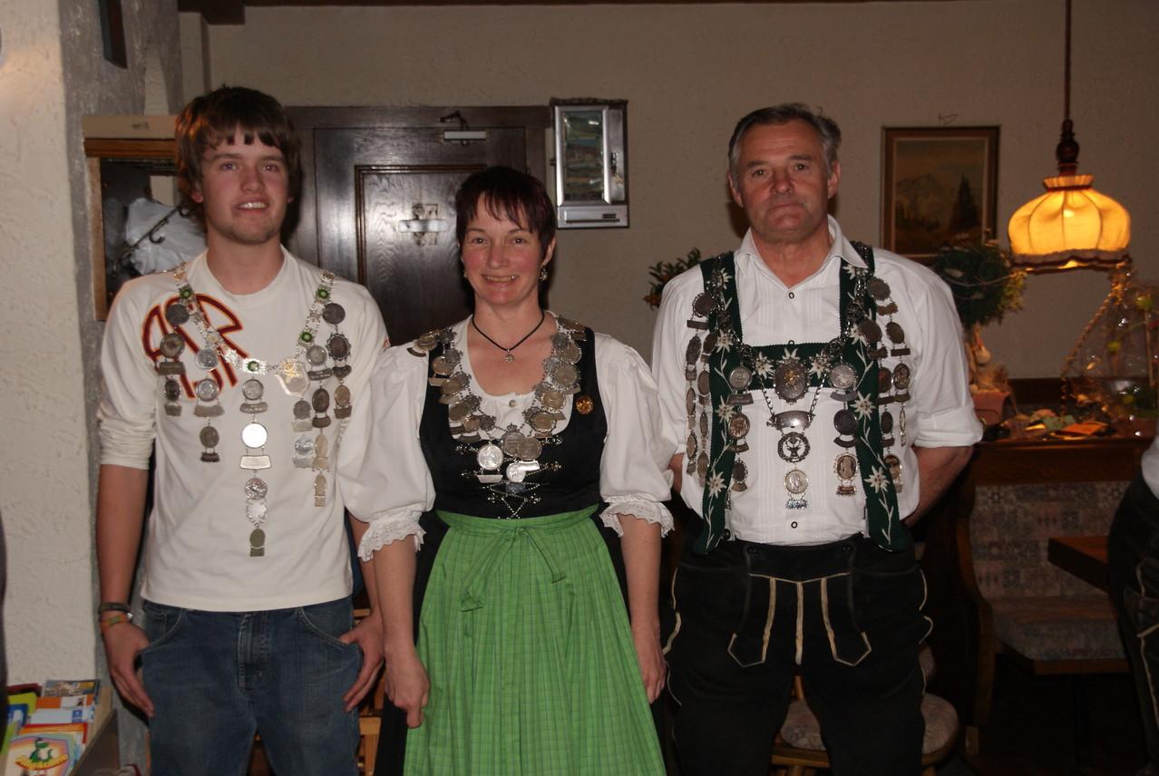 Schützenkönige 2008/2009