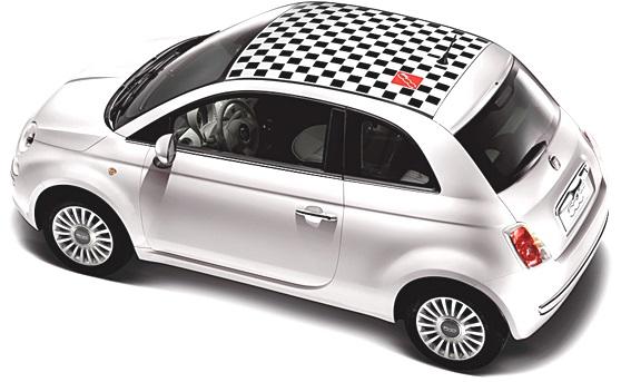 Toit Fiat 500