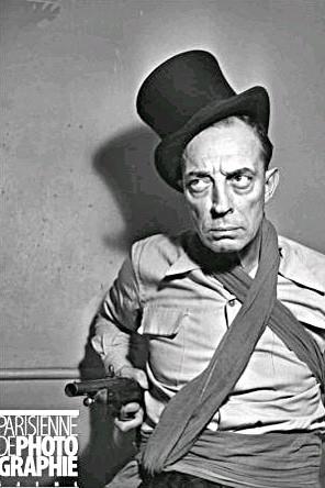 Buster Keaton à Médrano en 1952