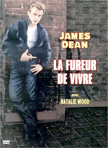 James Dean introduit la mode du maillot (tee-shirt)