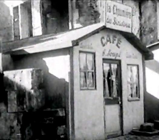Une baraque de café à Caen