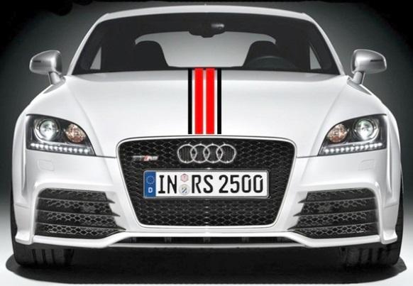 """Bandes """"sport"""" coupé Audi A5"""