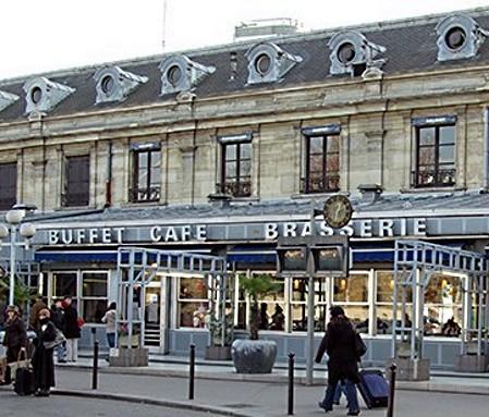 Gare d'Austerlitz le buffet