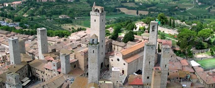 San Gimignano vue générale