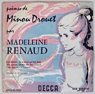 Madeleine Renaud dit des poèmes de Minou Drouet