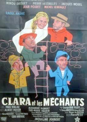 Affiche du film Clara et les méchants