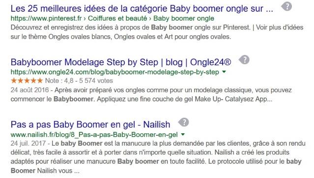 Copie-collé recherche sur Google le 29 1 2018