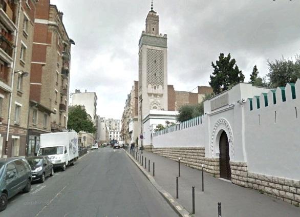 Minaret vu de la rue G Delplas années 2010