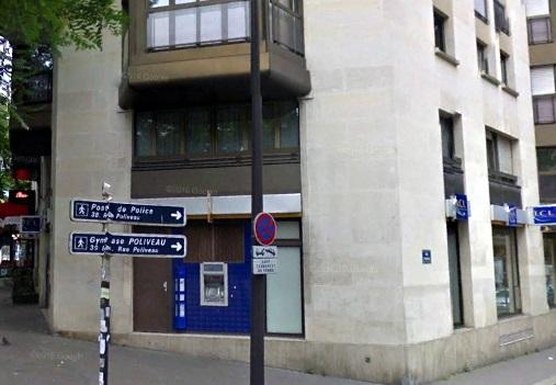 Angle rue Poliveau et boulevard de l'hopital en 2016