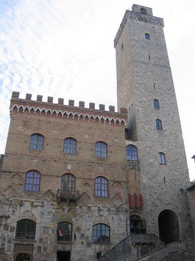 San Gimignano Palazzo del Popolo