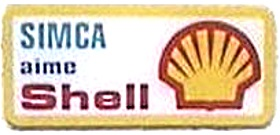 Pub essence SIMCA aime SHELL