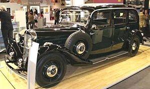 Mercédes 260D. Premier modèle diesel en 1936
