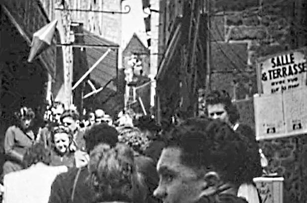 1945 Des boutiques et des clients