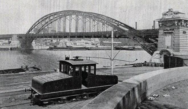 La liaison avec la gare d'Austerlitz