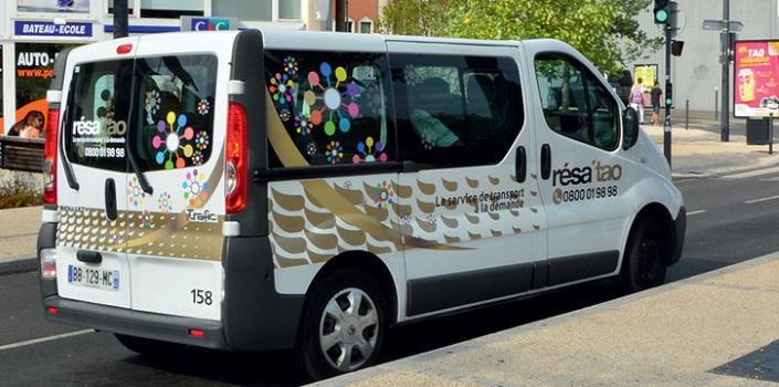 Minibus à la demande