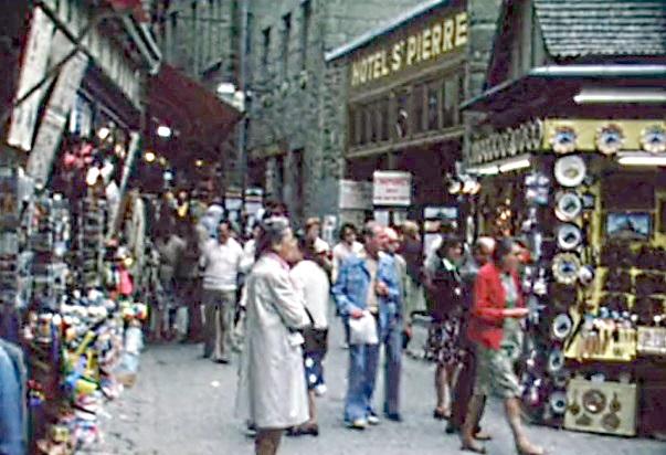 1976 Des boutiques et des clients
