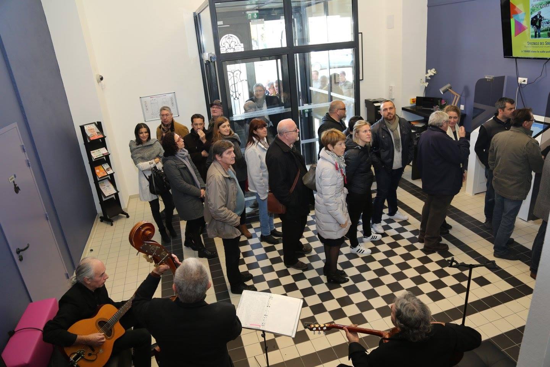 Inauguration de l'Hôtel de Vie (03 nov 2016)