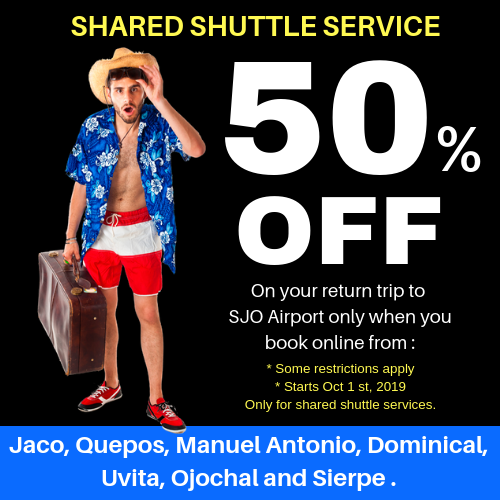 Contact & Reservations - Costa Rica Airport Shuttle - Costa