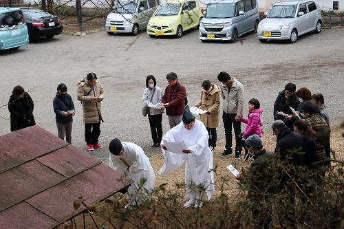 平松天神社の大祓