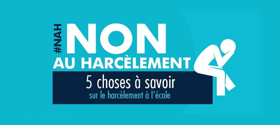 NON AU HARCELEMENT SCOLAIRE 5 CHOSES À SAVOIR GOUVENEMENT.FR