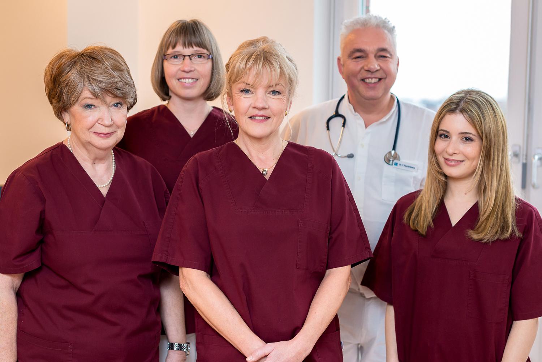 Facharzt-Praxis Team