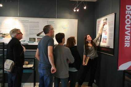 Visite de la Maison de l'Archéologie