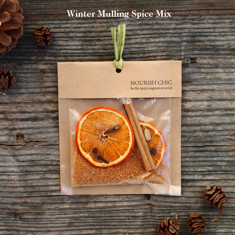 NOURISH CHICさんのwinter mulling spice mix