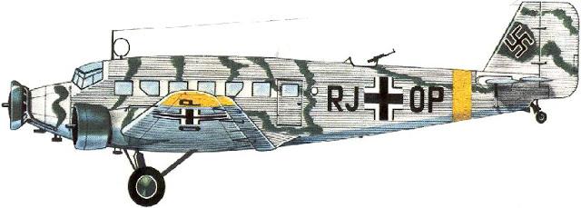 Junker Ju-52 in carico al I/KG200.