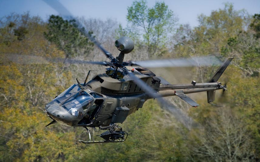 Bell OH-58 Kiowa Warrior / Foto: Bell Helicopters.