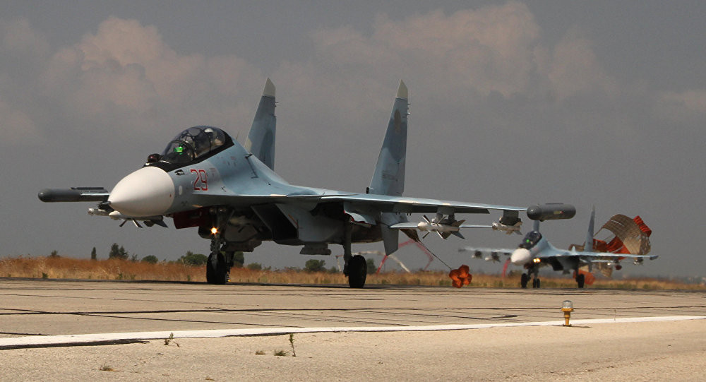 Suckhoi Su-30SM in rullaggio / © Sputnik. Dmitri Vinogradov