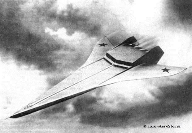 Il Bartini A-57, sembra un disegno degli sceneggiatori di Star Wars, risulta  più avanti persino rispetto ai giorni nostri.