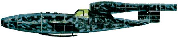 La V-1 Con abitacolo.