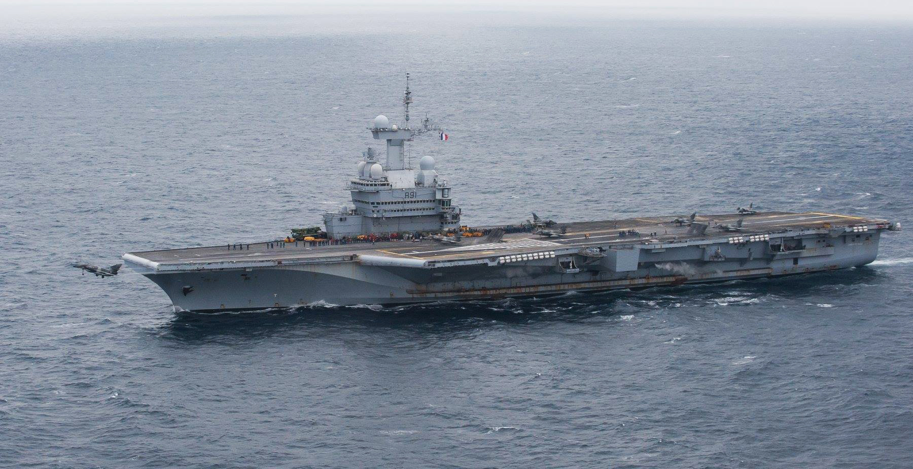La portaerei Charles de Gaulle /© Marine Nationale.