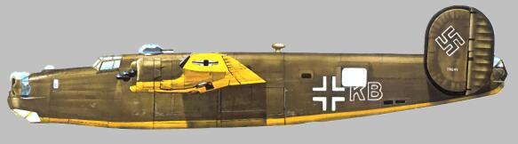 Questo B-24 venne utilizzato per missioni su Rodi.