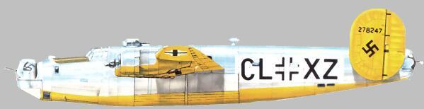 Consolidated B-24 Liberator venne utilizzato per Test Radar.
