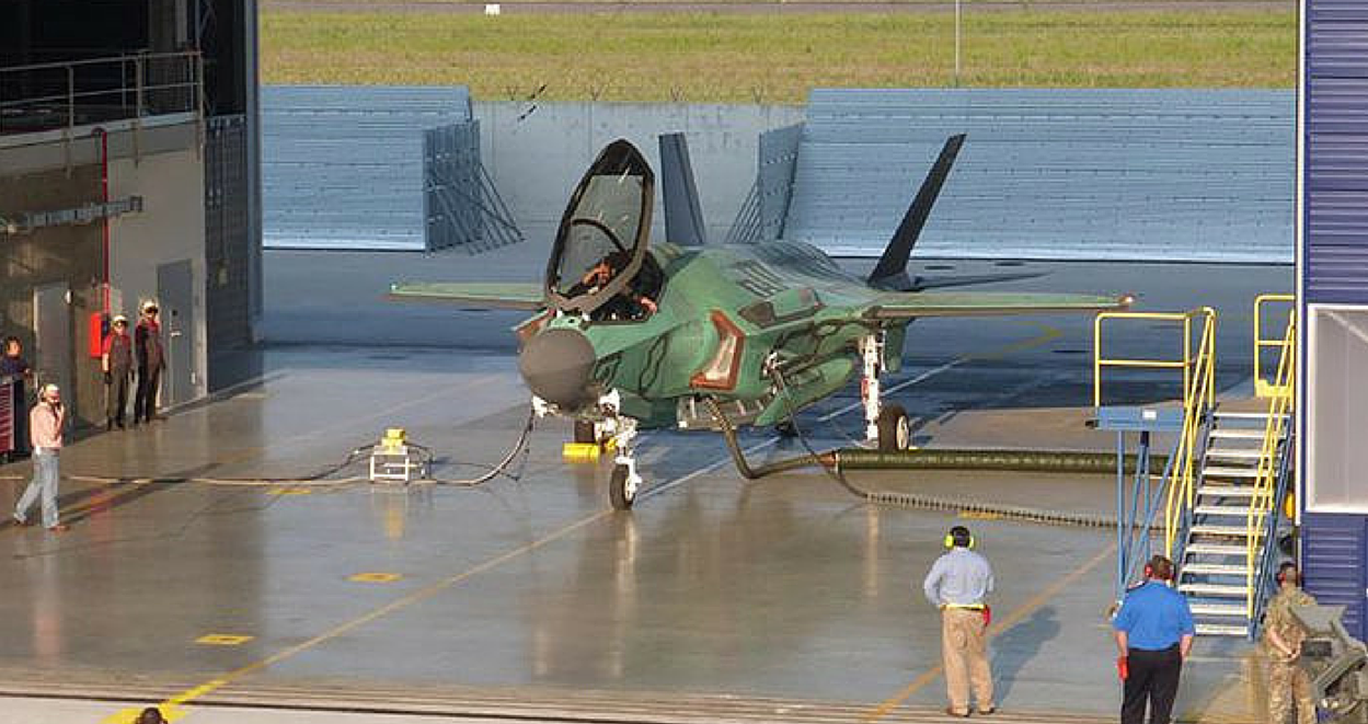 F-35A AL-1: prima accensione dei motori alla FACO di Cameri (Foto: Lockheed Martin)