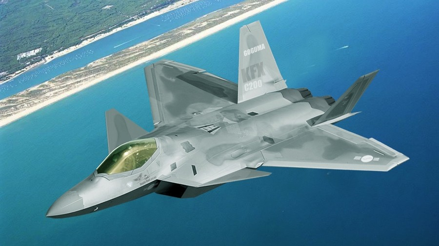 Un anticipazione di come potrebbe essere il nuovissimo caccia di quinta generazione KF-X  (design C203 con alette canard) /  (Foto: KAI)