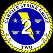 Carrier Strike Group 2 - USS George H.W. Bush (CVN-77).