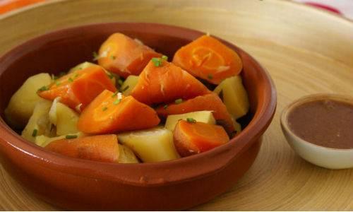 Nishime di verdure