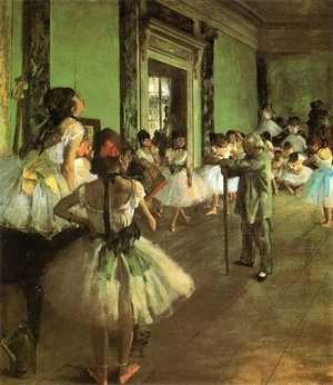 『バレエ教室』