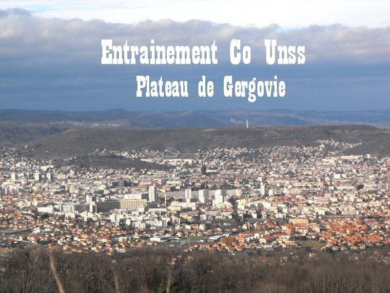 30 Janvier 2013 : Entrainement sur le plateau de Gergovie