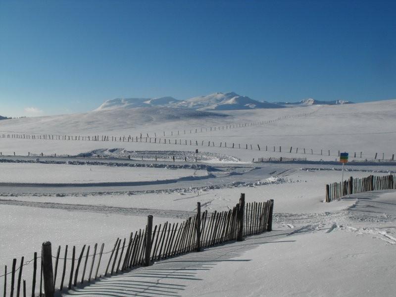Une vue magnifique sur les pistes de SuperBesse