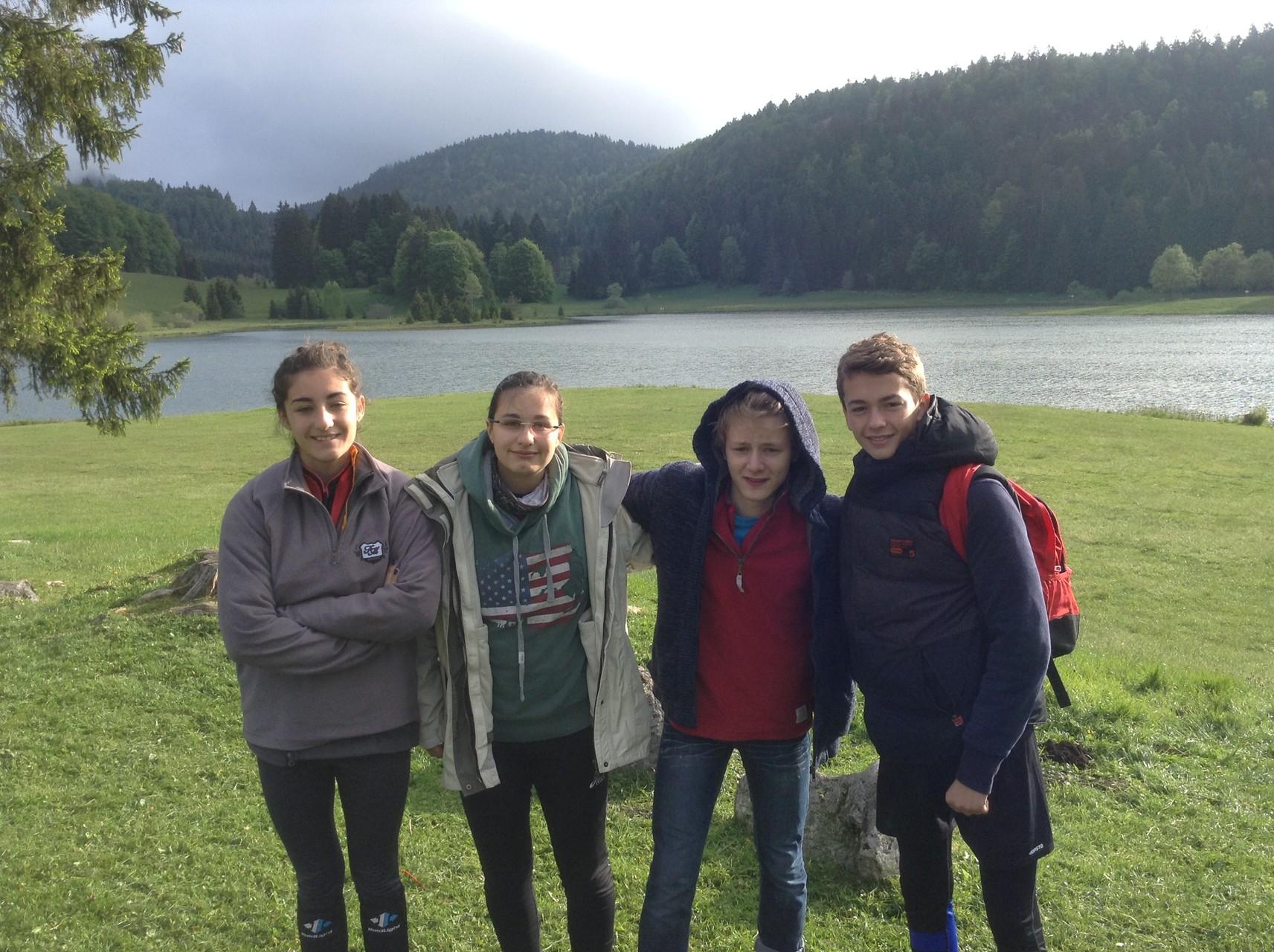Deuxième jour : Lac du Guenin pour le relais