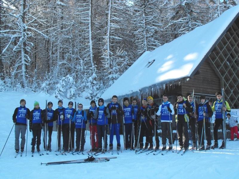 19 jeunes du groupe Raid nature ont chaussé les skis