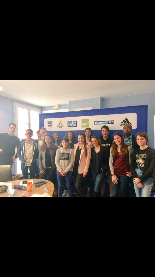 L'équipe des jeunes reporters